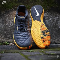 Sepatu Futsal NIke Lunar Gato II DK Smoke - [580456-018] BNIB