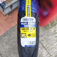 ban michelin pilot street radial 120 70 17 new not battlax pirelli