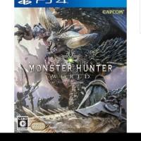 PS4 Monster Hunter World Region 3 Asia