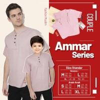 Baju Koko couple ayah anak Ammar