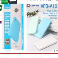 POWERBANK VIVAN VPB-A10 10000MAH SLIM Original Real capasity