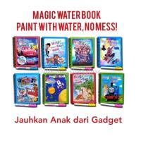 Magic Water Doodle / Drawing Book. Buku Mewarnai Dengan Air