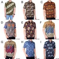 Baju Kemeja Batik Pria Lengan Pendek