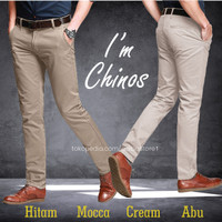 Celana Chino Panjang Pria / Chinos / Cino Murah Berkualitas Distro - Mocca, 28