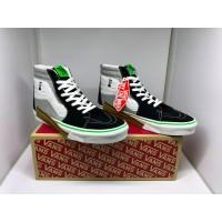 Sepatu Wanita Vans Sk8-Hi Vanscii Black/Blanc De Blanc Original Resmi
