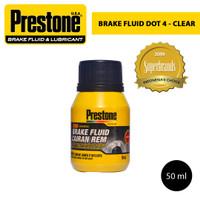 Prestone Brake Fluid Cairan Rem Dot 4 Clear 50ml