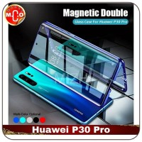 Huawei P30 Pro Magnetic Double Glass Frame Shell Case Casing Cover HP