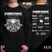 Kaos Baju Distro Konser Musik Metal Hammersonic Lengan Panjang SS00327
