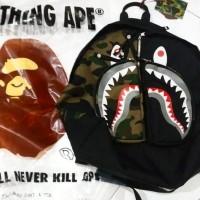 BAPE Shark Camo-Half Camo Backpack