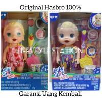 Mainan Boneka Hasbro Baby Alive Snackin Lily Original