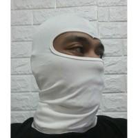 masker ninja/balaclava putih