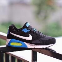 Sepatu Sneakers Nike Air Max IVO Black White Blue Original BNWB Murah