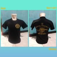 kaos/t shirt/baju keren MOTOR ROYAL ENFIELD 02