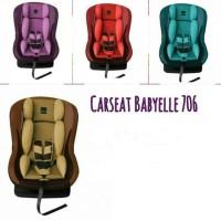 CARSEAT BABYELLE 706 CAR SEAT BABY ELLE JOK MOBIL BAYI KURSI MOBI