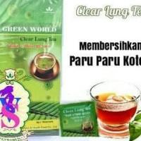 Best Seller Clear Lung Tea Green World | Menghilangkan Kecanduan Rokok