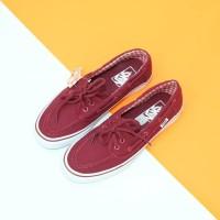 Terlaris ! Sepatu Vans Zapato Red Ⓢ