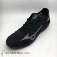 TERLARIS- Sepatu Futsal Mizuno Original Rebula Sala Black Shadow