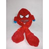 banny hat nyala motif spiderman