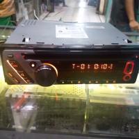 TERMURAH Kenwood KDCU-353A head unit singledin audio mobil tape mobil