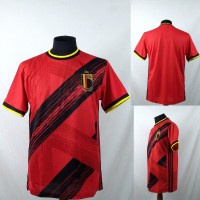 Jersey/Baju/Kaos Sepak Bola Belgia 2020 Home