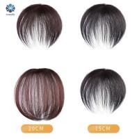 Mantap Clip-On Hair Topper Wig Human Hair Hairpiece Hair Extension