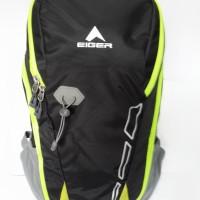 TERMURAH Tas Daypack Eiger 2228 Compact - Black Green