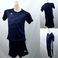 Setelan Baju/Kaos Sepak Bola/Futsal Dri-Fit Print Kids/Anak Adidas 5