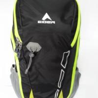 MURAH Tas Daypack Eiger 2228 Compact Black Green - Tas Laptop,Tas