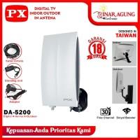 (HARGA PROMO) ANTENA DIGITAL TV INDOOR/ OUTDOOR ANTENA PX DA - 5200