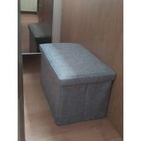 Kursi Sofa Kotak Penyimpanan Barang 50x30x30cm / Bangku Storage Box