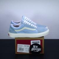 Sepatu Vans Oldskool OG Style 36 Light Blue Sky Biru Langit Old Skool
