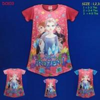 (DCK03) Daster Anak Frozen Beautiful Dream Usia 2-5 Tahun