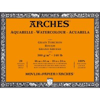 Kertas Cat Air Arches 46x61cm 300gsm Rough Watercolor Blocks