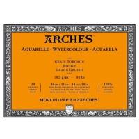 Kertas Cat Air Arches 36x51cm 185gsm Rough Watercolor Blocks