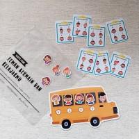 Mencari Penumpang Bus Sesuai Daftar (Dengan Magnet & Pouch)
