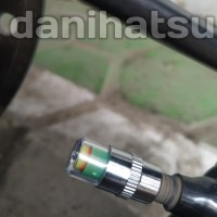 Alat Pengukur tekanan angin Sepeda motor Mobil Tutup Pentil Ban unik
