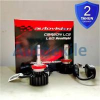 Autovision Carbon C1 LCS LED Headlight H11 5700K Putih Lampu Mobil