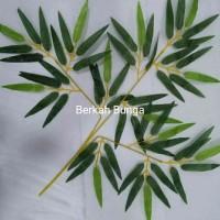 daun bambu Plastik- Bambu artificial- daun plastik