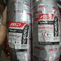 PAKET Ban Motor Bebek Tubeless FDR Genzi Pro 90 80 & 80 80 ring 17
