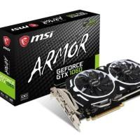 Terbaru Msi Geforce Gtx 1060 3Gb Ddr5 - Armor 3G Oc V1 Vga Gaming