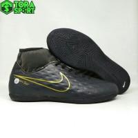 Sepatu Futsal Dewasa Nike Mercurial CR7 Boot Hitam List Gold Size 39 -