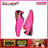 Sepatu Futsal Nike Hitam Kombinasi Oren