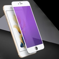 Terbaru Anti-blue ray Tempered Glass For iphone 6 6s 6 plus 7 8 Full