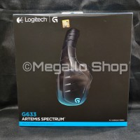 Logitech G633 Artemis Fire gaming headset garansi resmi