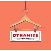 Jual Rolling Paper Dynamite Single White + Tbk Strawberry mint 3gr