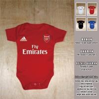 Jumper Bayi Arsenal Jersey Romper Baju Bola Kaos Bayi