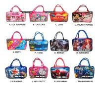 Tas Travel Bag Koper Karakter Anak Uk. Besar Banyak Gambar