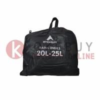 Rain Cover Eiger 910005464 001 Black Transparent Bag Cover S 20-25L