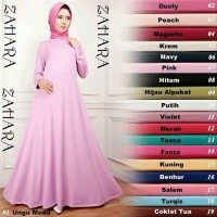 Gamis Jersey Polos / Gamis Busui Polos ( Bahan Jersey )