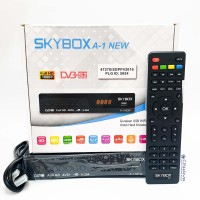 New Skybox A1 HD Receiver Parabola AVS Powervu Autoroll Baru Tandberg
